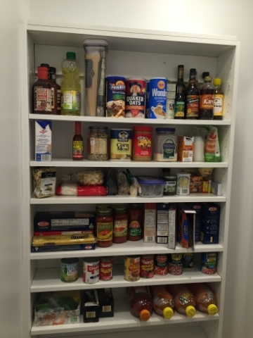Organized Home Remodeling. Pantry